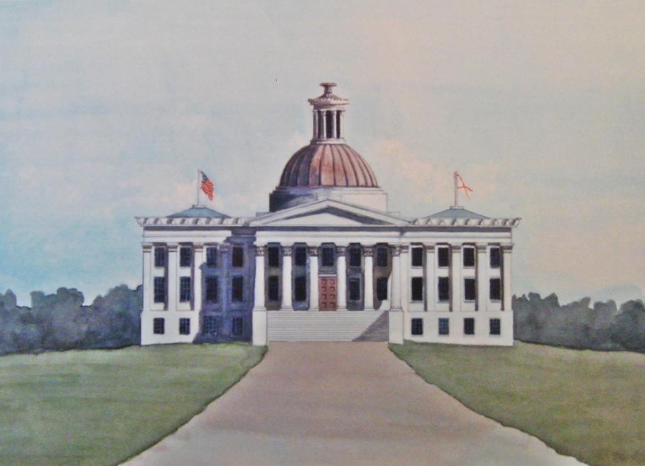 watercolor-of-1847-alabama-capitol
